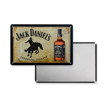 Groothandel Vintage 30*20cm Jack Daniel's Metal Emaille <span class=keywords><strong>Bord</strong></span>