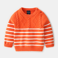 2019 Autumn New Kids Clothes Baby Boy Boutique Striped Gentleman Simple Sweater