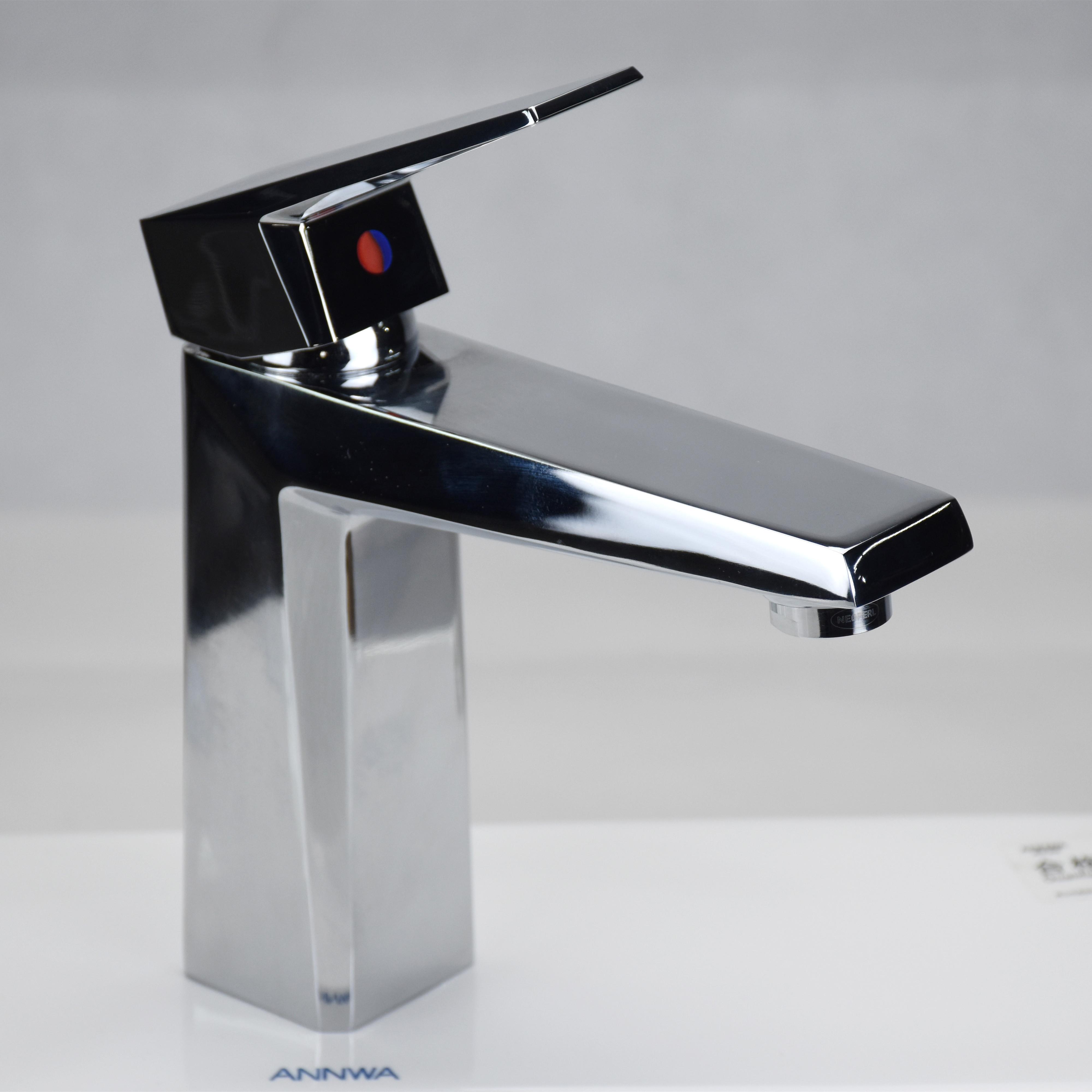 GAPPO Mitigeur de lavabo monobloc en acier inoxydable or