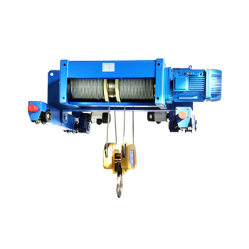Vision High Efficiency Double Electric Wire Rope Hoist To Bay Rail Carriage