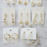 Korean-made earrings Accessories