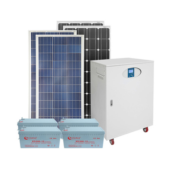 portable all in one cabinet PV panel system 5KW solar energy system 5KW products with inverter,controller, battery built in