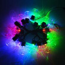 220В 110В неоновый светильник 2,5 м 5 м 10/20 светодиодов неоновая вывеска лампы гирлянда для сада свадьба праздник украшение для домашнего балкон...(Китай)
