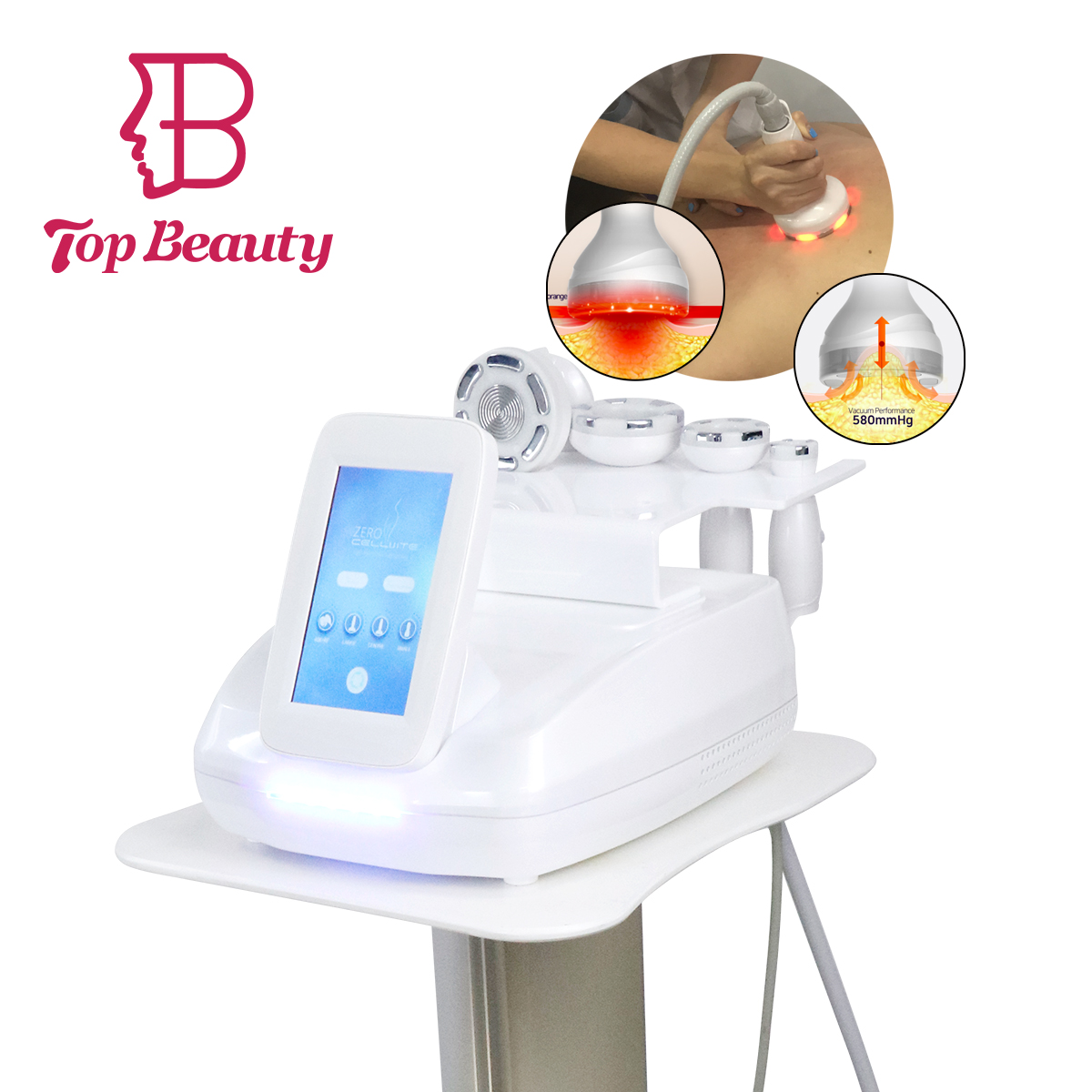 factory direct!!! ultrasonic cavitation+ rf +vacuum for fat reduction