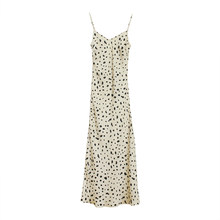 Женское леопардовое платье, роскошные элегантные платья знаменитостей без рукавов, облегающее платье с треугольным вырезом, шифоновое сат...(Китай)
