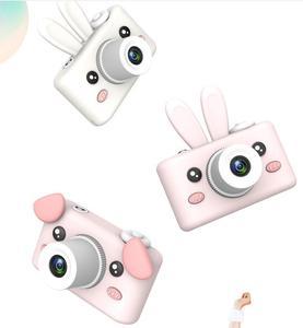 8MP2 Inches Screen Children's video camera mini SLR double lens motion camera digital camera toy