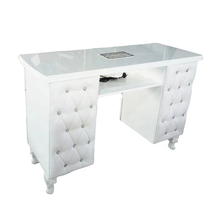 North european style nail salon furniture cheap nail table manicure table manufacturer