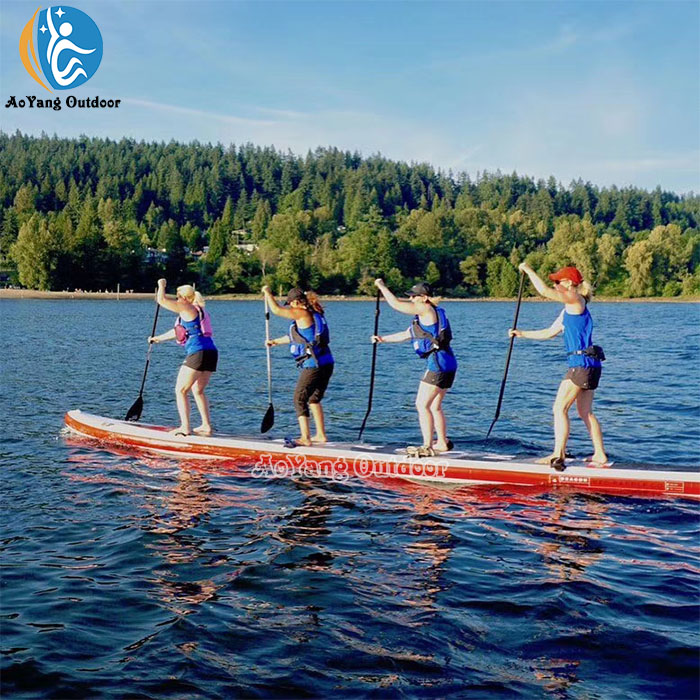 Outdoor Team Sports Sup Race Boards Inflatable Water Games for Sale