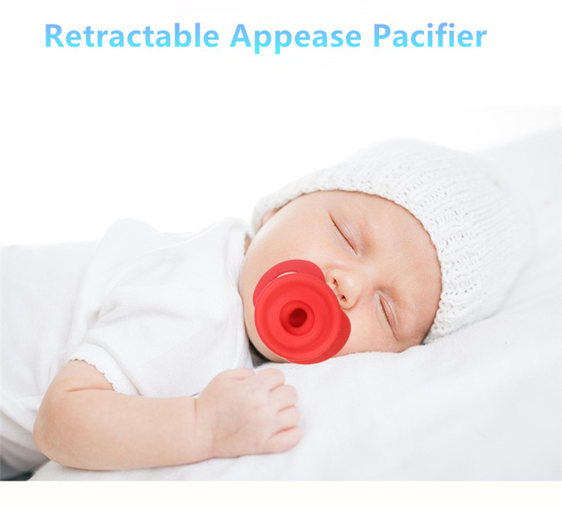 Newborn Baby Pacifier Dummy Nipples Food-grade Silicone Teether Pacifier Baby Care Sleep Soother