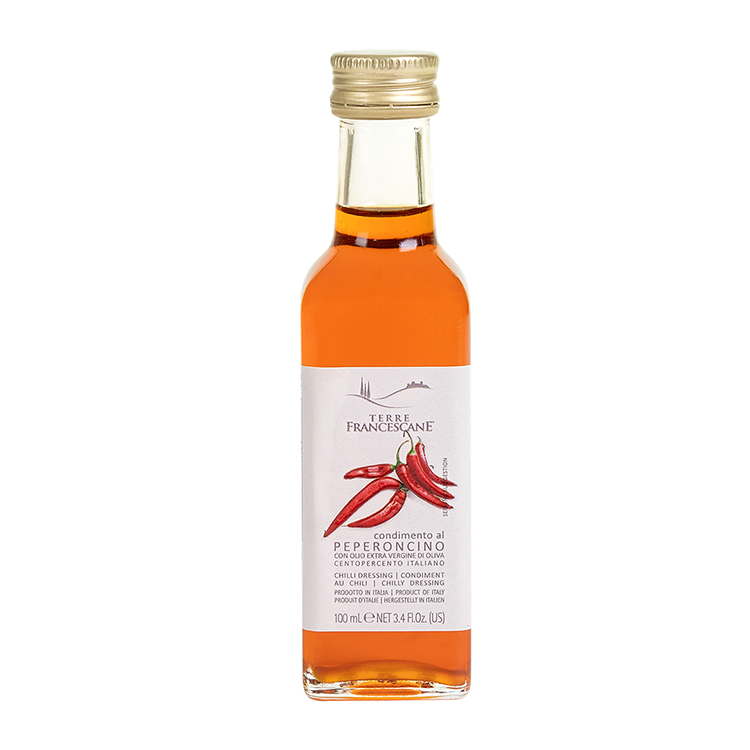 CHILLI flavoured Italian export wholesale extra virgin edible olive oil