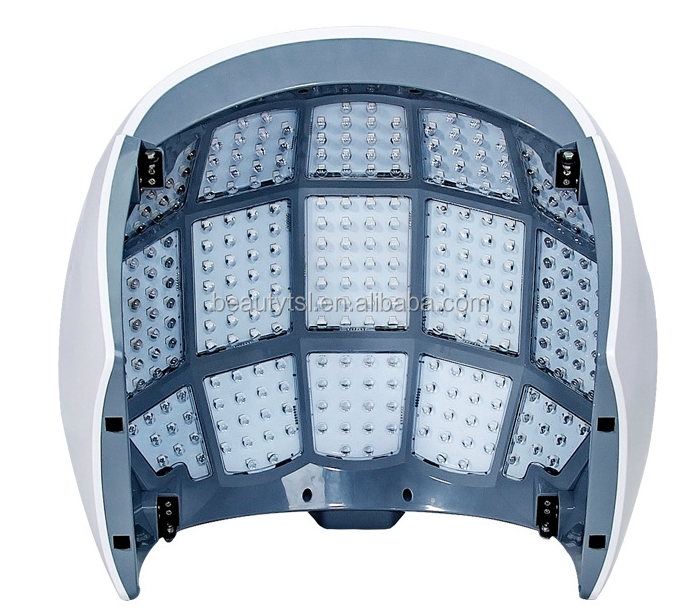 TSL-1127E PDT led 8 Photodynamic Therapy  PDT LED U Shape Face Mask for Acne Skin Treatment Machine