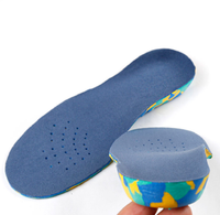 Hot selling children's flat foot correction insole inside and outside eight-character X-legs foot valgus arch pad EVA insole