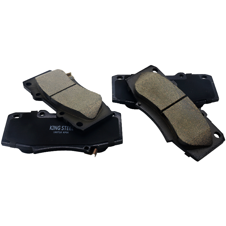 Wholesale Standard Weight Japanese Technology Genuine China Factory Ceramic Car Auto Brake Pad For Toyota Korea Janpan Thailand