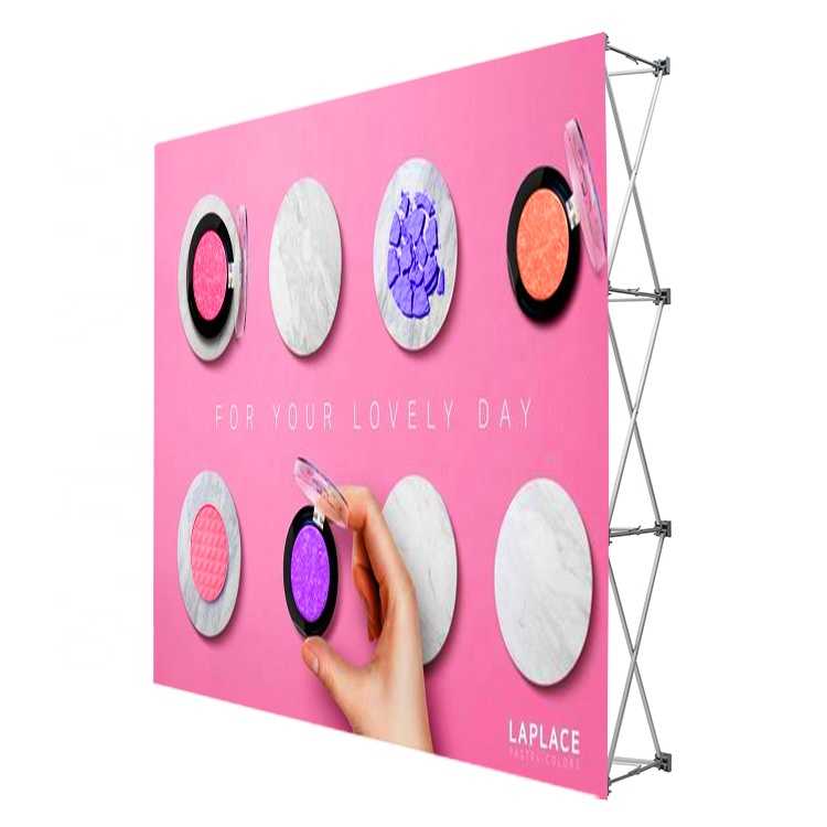Hot sale trade show backdrop display pop up banner <strong>stand</strong> exhibit <strong>booth</strong>