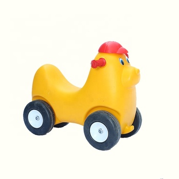New Design Lovely Funny Plastic Children Cartoon Toy Car With Wheels
