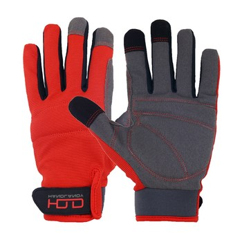 HANDLANDY Microfiber Palm Garden Light Work Industrial Working Gloves