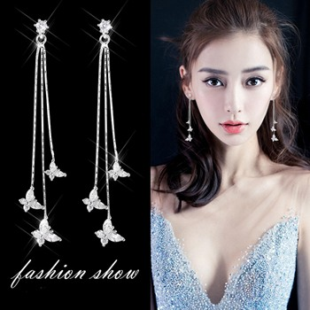 2020 New arrival high quality fashion jewelry 925 sterling silver stud earrings for women and girls