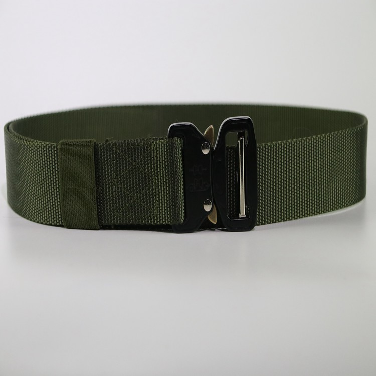 Custom Mens Nylon Tactical Belt Military Army Fans Nylon Webbing Multi-functional Tactical Belt