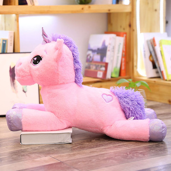 110cm large plush unicorn toys birthday gifts for children