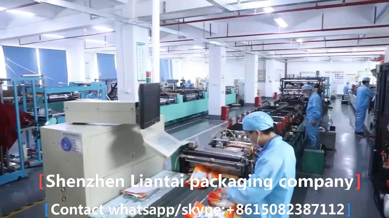 Custom Printed Mylar Zipper Plastic Ziplock Dried Food Packaging Bag Beef Jerky Bag