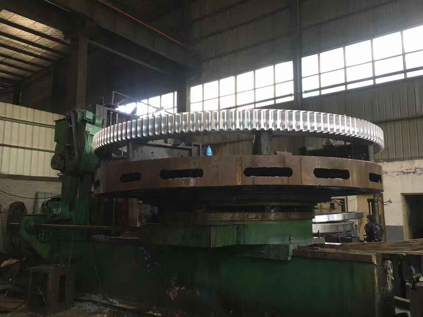 China brand Yogie customize rotary kiln casting steel ZG310-570 large module cement ball mill big ring spur girth gear wheel