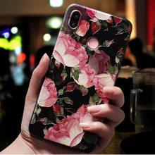 Для samsung A30S чехол 3D рельеф цветок рельефный чехол для телефона для samsung Galaxy A50S A51 A50 A10 A10S A20 A30 A71 полиуретан) и силикона с откидной крышкой(Китай)