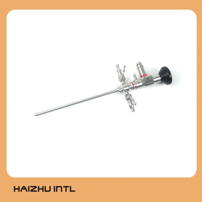 Arthroscopy סט עם Arthroscope ונדן שני דרך ברזלים, arthroscope 2.7mm/4mm 0/30/70 תואר