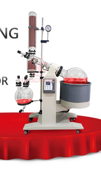 USA hot sale 5L rotary evaporator turnkey setup rotovap RE-501