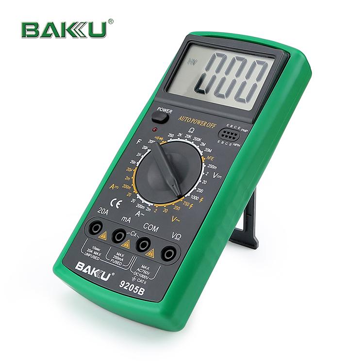 Бакинский бренд Ручной цифровой мультиметр Модель BK-9205B