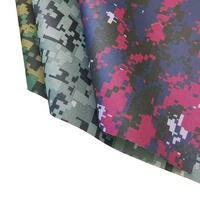 300D PVC Coated Camouflage Pattern Oxford Fabric