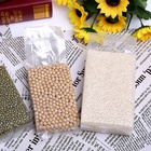 Food grade customized 0.5kg 1kg 5kg rice and beans brick plastic bag