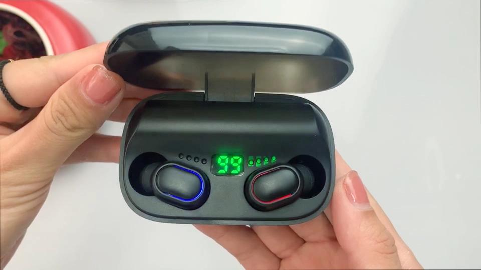 אוזניות Bluetooh 2020 חדש מכירה לוהטת פופולרי Tws נייד אלחוטי Bluetooth אוזניות ספורט Bluetooth אוזניות סיטונאי