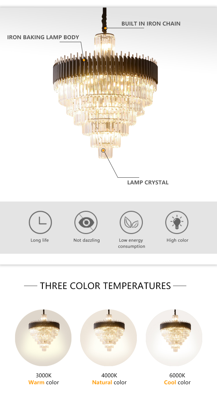 Living Room Kitchen Hanging Fixtures White Lampshade Modern LED Pendant Lamp