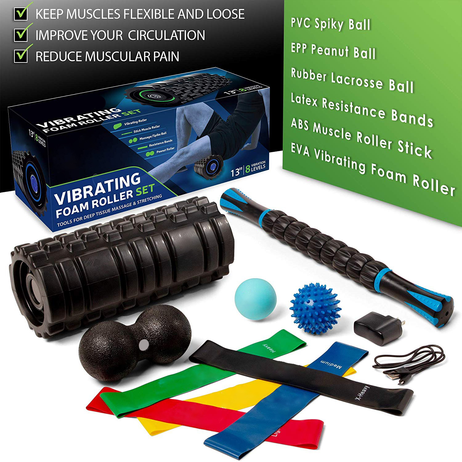 Tiger FitnessBrand new wholesale rollers paint relieve foot arch pain foam roller