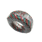 IEC 60227 2X0.75MM PVC insulation copper conductor twisted joint flexible electrical wire