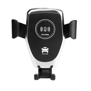 2020 Newest Quick Charger Fast Charging Holder 10w Mount automatic Fast Mobile Phone Qi Car Wireless Charger