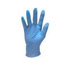 medical blue white black sterile vinyl surgical gloves