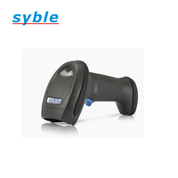 Handheld Auto laser barcode scan scanner USB with stand