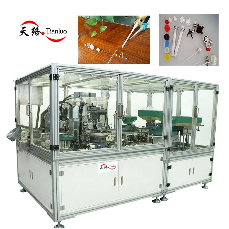 Sprayer assembly machine/Aerosol valve assembly machine / Sprayer nozzle assembly machine