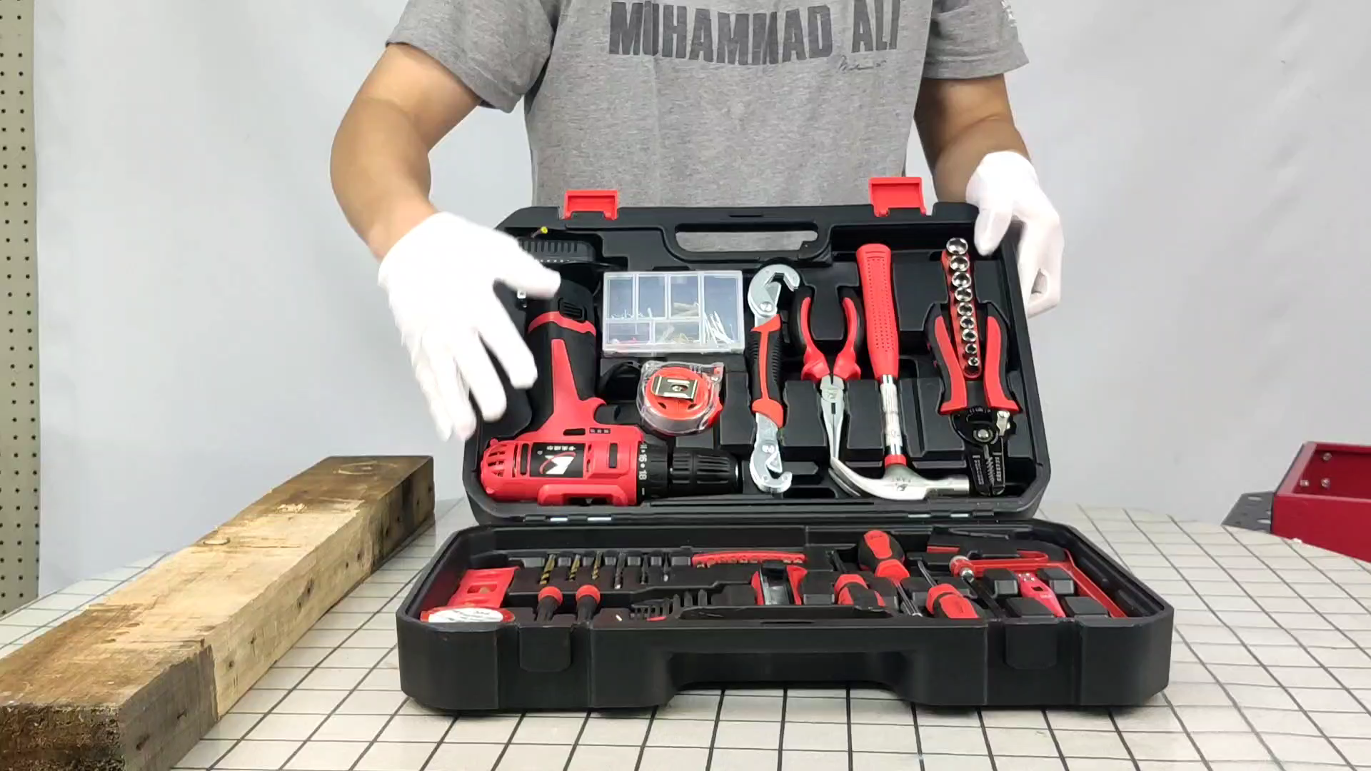 professional electric power combo Household tool set,tool set with cordless power drill