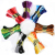 Wholesale Multicolor 8 Pcs Similar Thread Cross Stitch Cotton Sewing Skeins Embroidery Thread Floss Kit DIY Sewing Tools