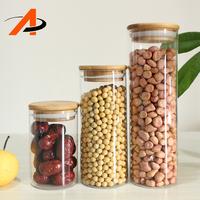 Home Storage Organization Decorate Kitchen Spice Glass Jars