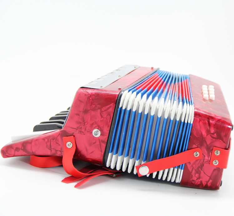 8 bass high quality toy accordion educational instruments