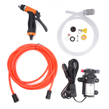 portable high pressure dc 12v car washer Self-priming new Car Wash Kit Portable 12v high pressure water car wash pump