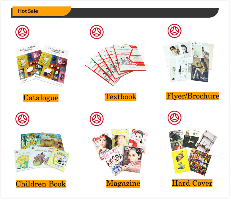 Wholesale Custom Full Colour Glossy Paper Textbooks Printing for Students