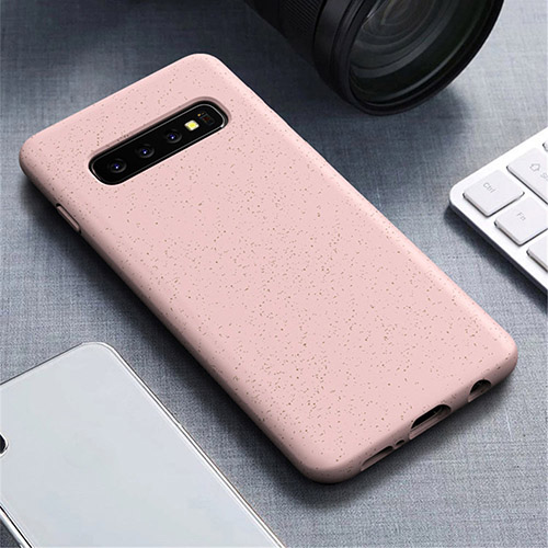 Eco Friendly Wheat Straw Biodegradable Phone Case For Samsung Galaxy S10 Note 10 Plus Lite