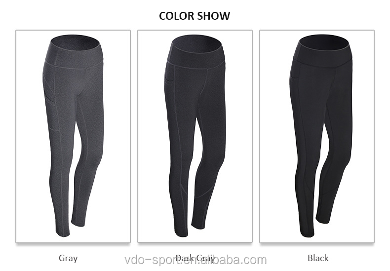 Womens Trousers Pants Yoga Pants Workout Athletic Leggings Butt lift Yoga Pants with Pockets