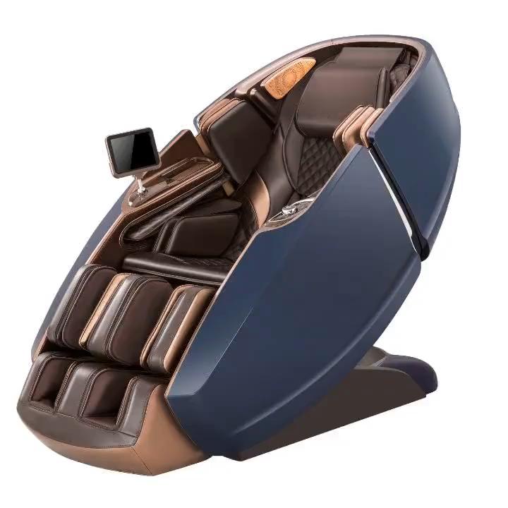 hot products 3d zero gravity shiatsu electric full body relax massage chair 8900