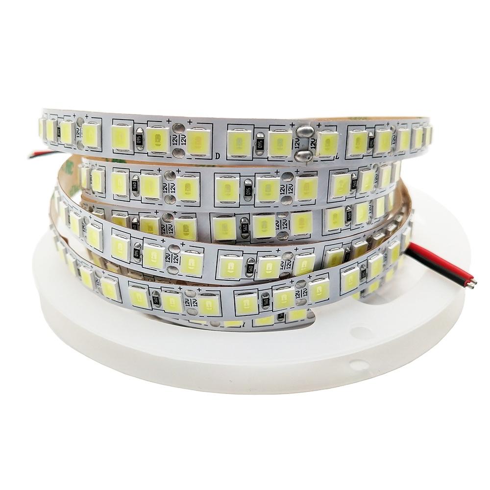 12V TV Back Luces LED Light 5054 120 LED Stage Ceiling Floor Lighting White LED Strip Light