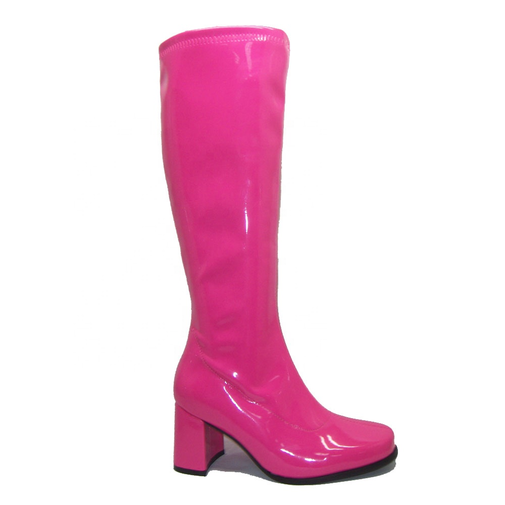 Online Wholesale Sexy Shoes Women S Knee High 3 Heels Gogo Boots